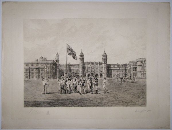 "[Stonyhurst.___""The Grand Matches"".____""Cheering the Flags"".]"