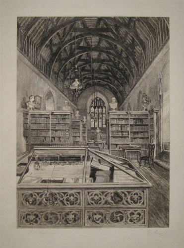 "[Sherborne.___""The Library"".]"