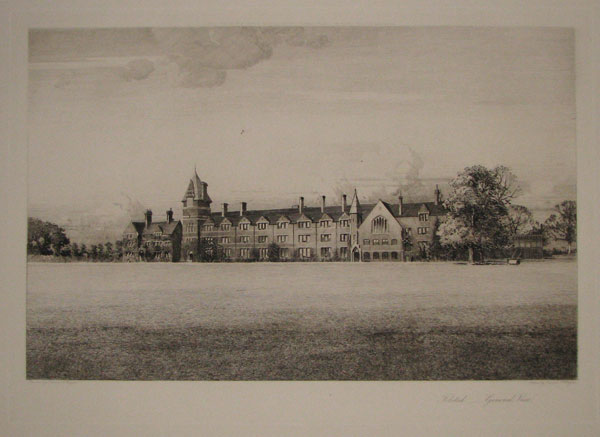 "Felsted. ____ ""General View""."