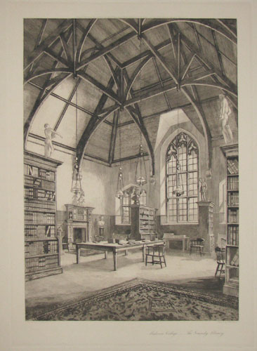 Malvern College __ The Grundy Library.