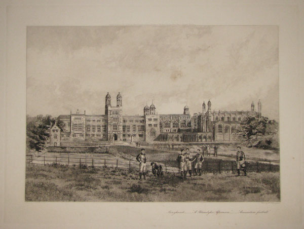"Stonyhurst_____""A Blandyke Afternoon""_____""Association football""."