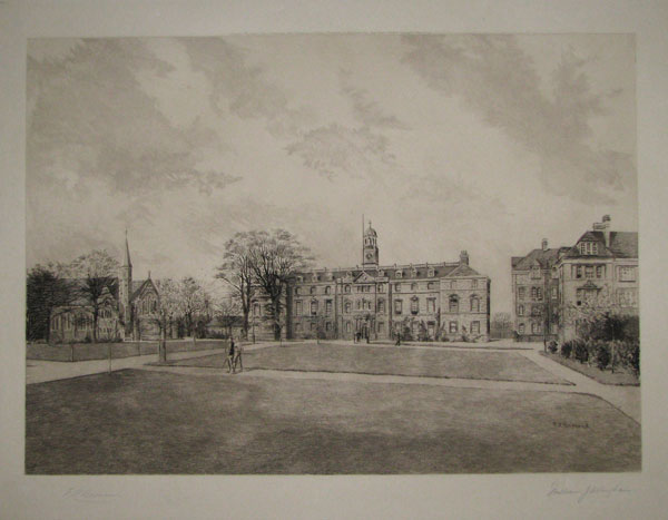 "[""Shrewsbury_____General View of the New Buildings"".]"