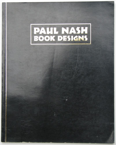 Paul Nash Book Designs.