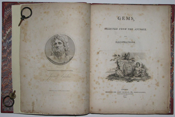 Gems, Selected from the Antique with Illustrations.