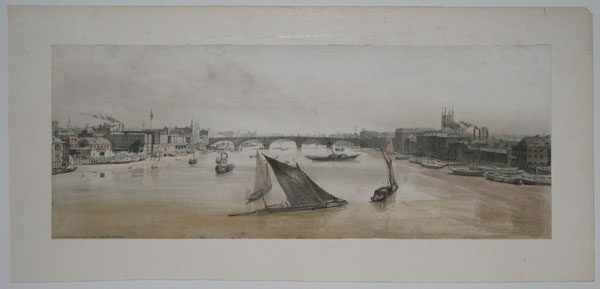 London Bridge &c. from Southwark Bridge [in image].