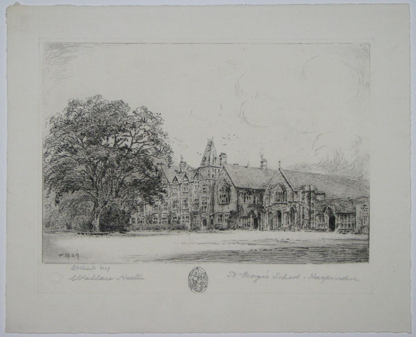 St George's School - Harpenden [pencil to right.]