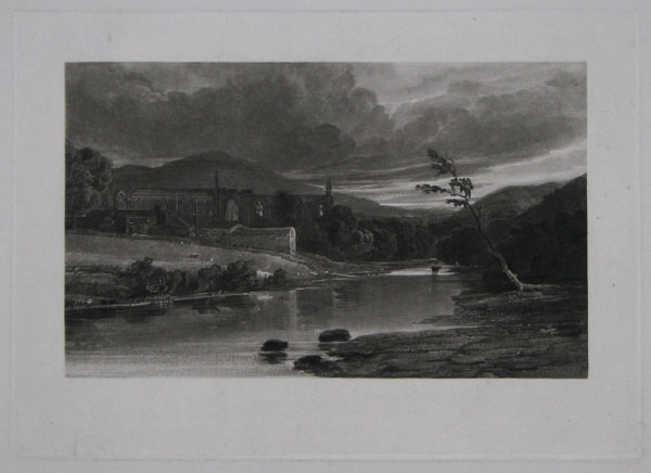 [Bolton Abbey on the River Wharfe.]