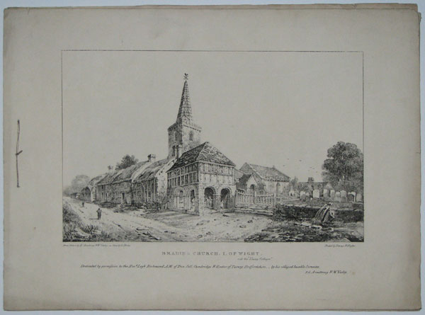 [Views in the Isle of Wight, illustrating the tracts of the Rev. Legh Richmond.]
