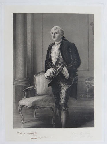 Charles Wyndham In the character of David Garrick.