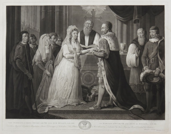 The Marriage of King Henry the VIII with Ann Bullen, A.D. 1533.