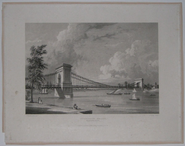 Suspension Bridge, Hammersmith.