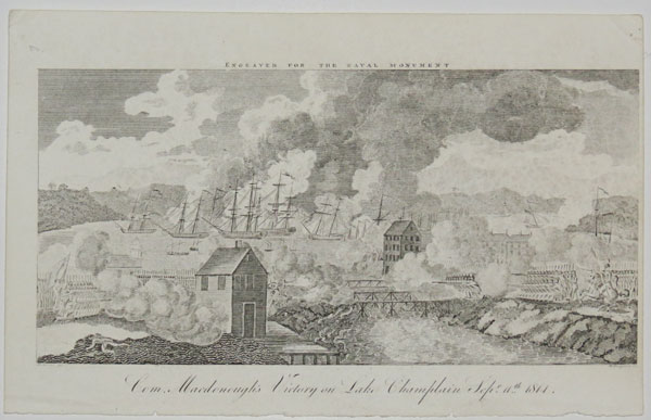 Com. Macdonough's Victory on Lake Champlain Sep.r 11.th 1814.