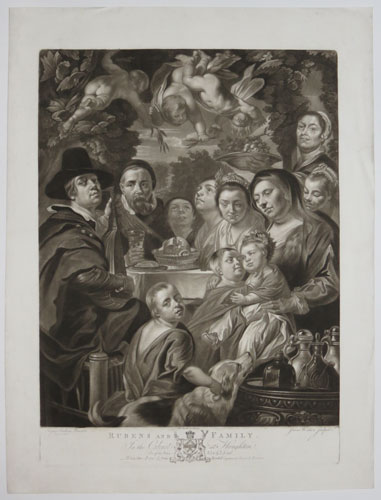 [Jacob Jordaens and family.] Rubens and Family.