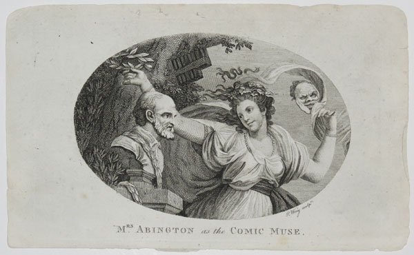 Mrs. Abington as the Comic Muse.