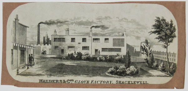 Nalders & Co's. Glove Factory, Shacklewell.