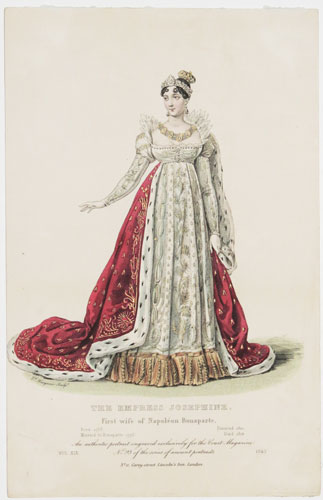 [France] The Empress Josephine. First wife of Napoleon Bonaparte.