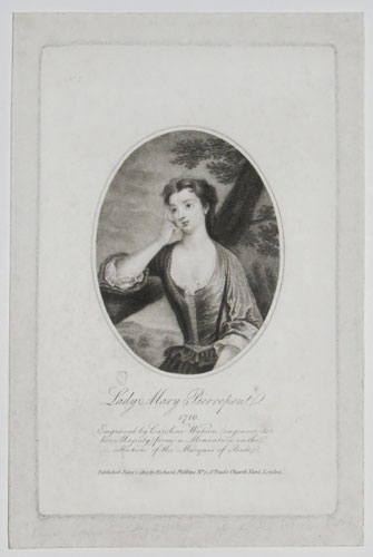 Lady Mary Pierrepont. 1710.  No.1