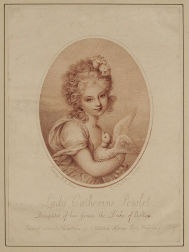 Lady Catherine Powlet. Daughter of his Grace the Duke of Bolton.
