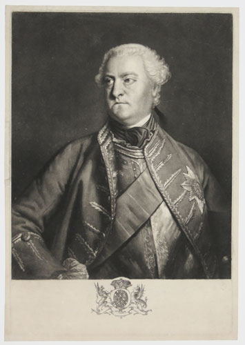 [His Grace Charles Spencer, Duke of Marlborough, Master General of the Ordnance, General in Chief of His Majesty's Foot Forces, Kinght of ye most Noble Order of ye Garter, & oneof his Maj.ties most hon.ble Privy Council &c.