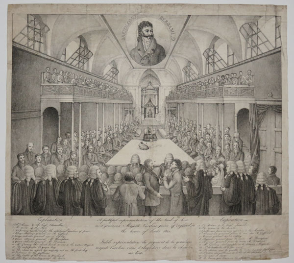 A faithful representation of the trial of her most gracious Majesti [sic] Caroline queen of england, in the house of lords 1820.