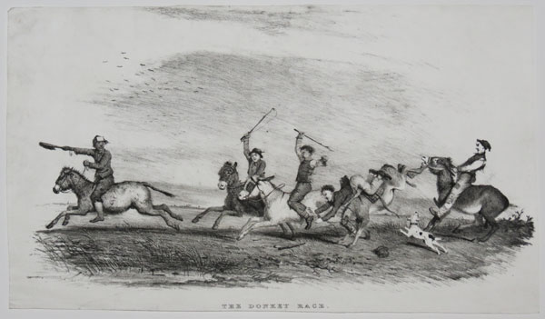 The Donkey Race.