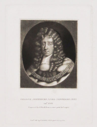 George Jefferies, Lord Jeffereies, 1685 Ob.t 1689.