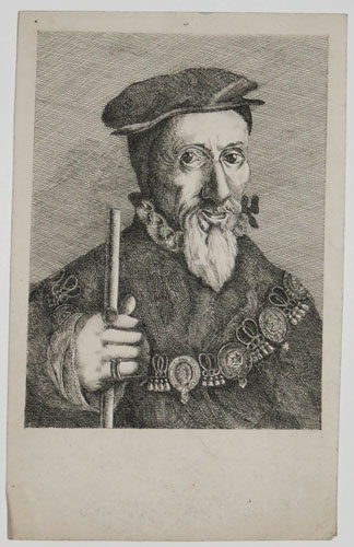 [William Paulet First Marquis of Winchester. From the ancient Painting in the College of Arms.]