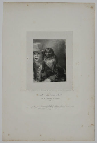 "Study for A Principal Figure in the Picture of ""The Parish Beadle""."