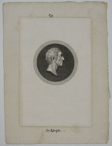 [Philip Dormer Stanhope Earl of Chesterfield.