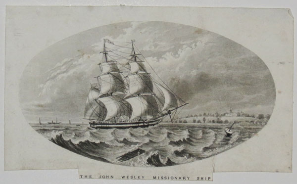 The John Wesley Missionary Ship.