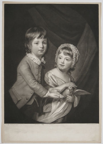 [William Lord Newbattle and his Sister.]