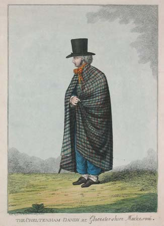 The Cheltenham Dandy or Glocestershire Macke-roni.