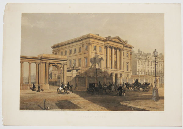 [Apsley House, Hyde Park Corner, London; residence of Arthur Wellesley, 1st Duke of Wellington (1769 - 1852).]