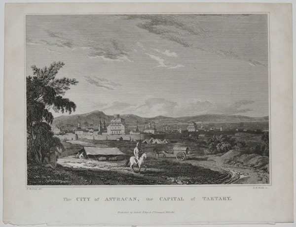 The City of Astracan, the Capital of Tartary.