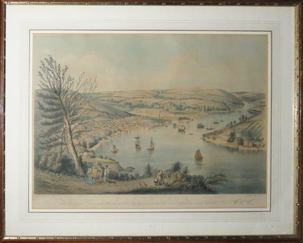 Dartmouth. From the original Picture in the possession of John Fox Esq.re to whom this Plate is most respectfully dedicated by his obliged Servant. W.H. Hay.