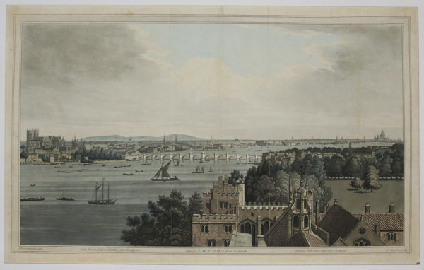 View of London from Lambeth.