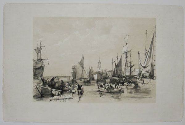 The Port of London [in image].