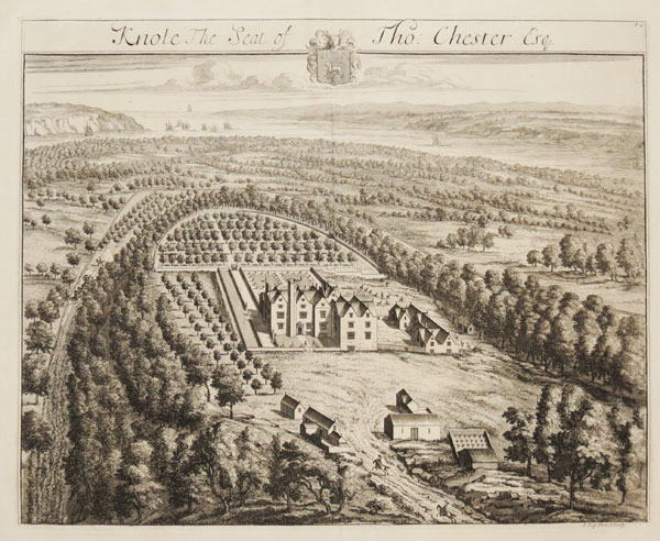 Knole. The Seat of Tho: Chester Esq. 32.