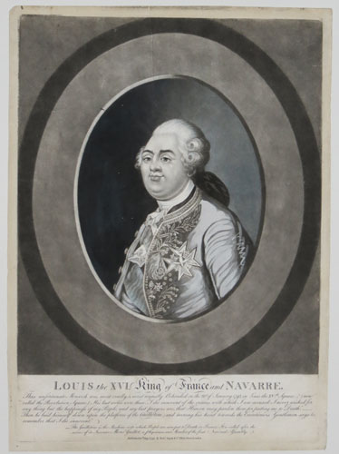 [France] Louis the XVI. King of France and Navarre [&] Marie Antoniette. Queen of France and Navarre.