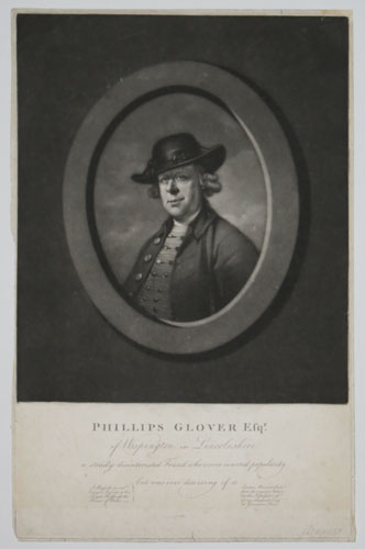Phillips Glover Esqr. of Wispington in Lincolnshire.