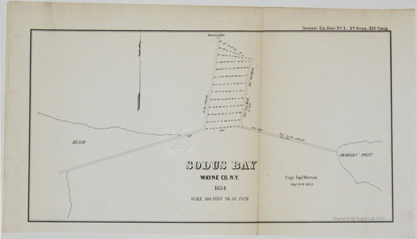 [Four surveys of the Lake Ontario coasts of New York State.]
