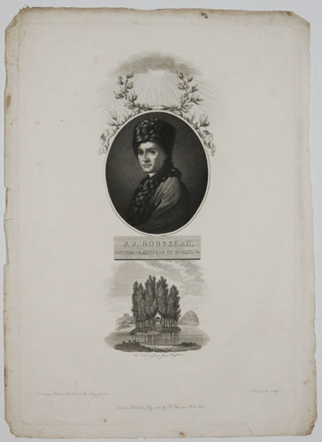 J.J.Rousseau, Author of Letters on Botany & c. The Tomb of Jean Jaque Rousseau.