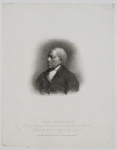 James Barry Esq. From an original Cast, taken a short time before his Death.