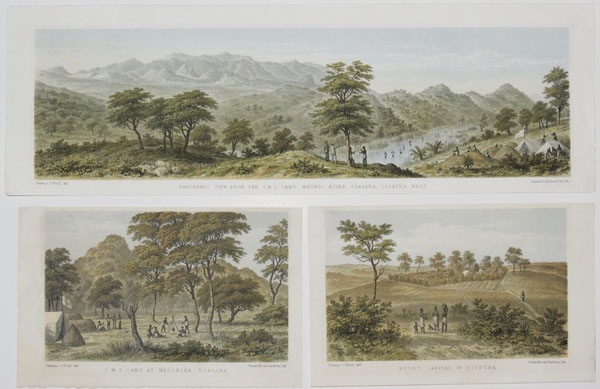 [19 plates illustrating Alexander Murdoch Mackay's expedition to Uganda.]