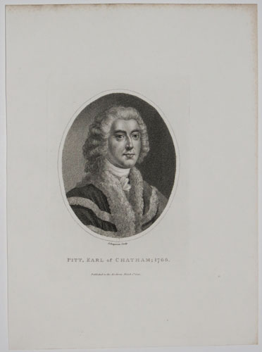 Pitt, Earl of Chatham; 1766.
