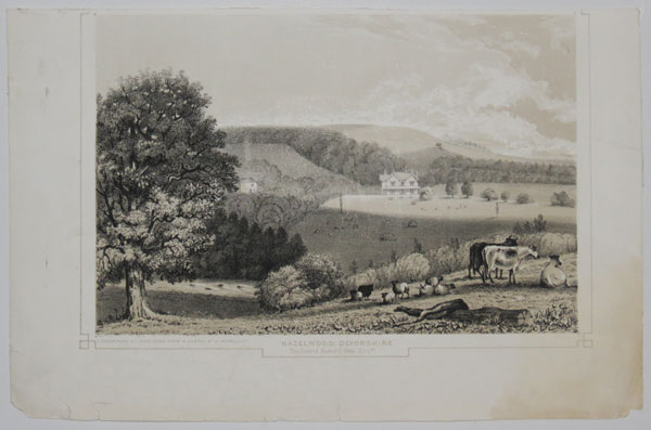 Hazelwood, Devonshire. The Seat of Richard Peek, Esq.re