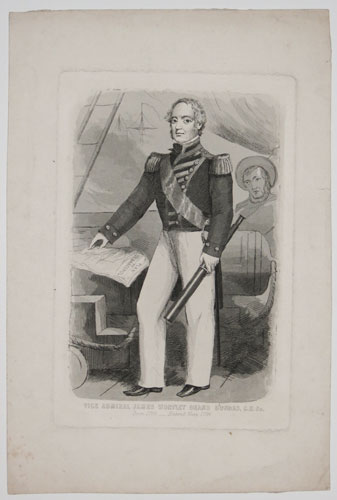 Vice Admiral James Wortley [sic] Deans Dundas, C.B.&c.