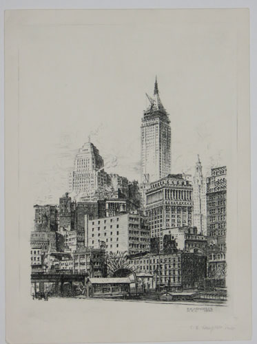 [A view in New York City.]