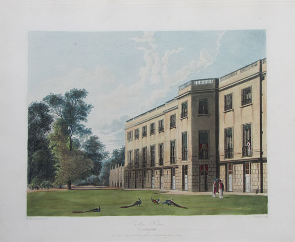 Carlton House, South Front.