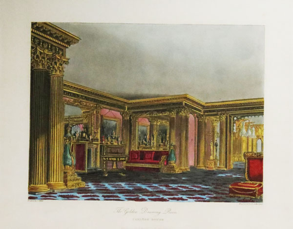 Golden Drawing Room. Carlton House.